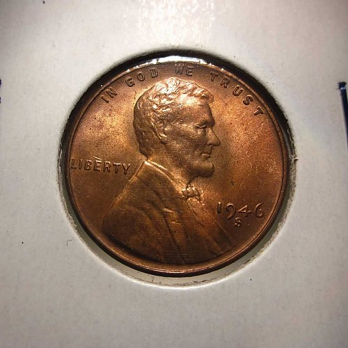 1946 S Lincoln Wheat Cent Small Cents: Nice Penny