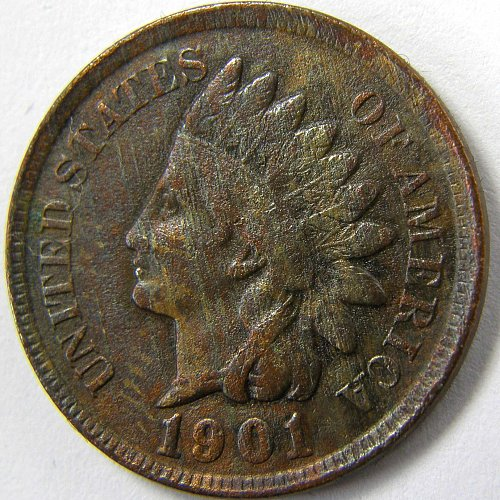 1901 P Indian Head Cent #3