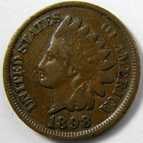 1898 P Indian Head Cent #5