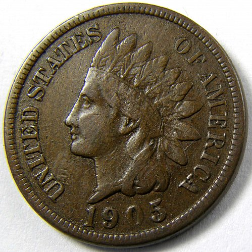1905 P Indian Head Cent #6