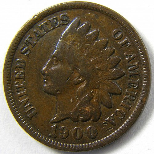 1900 P Indian Head Cent #5