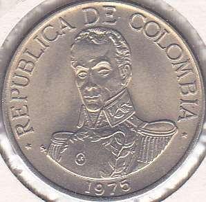 Colombia 1 Peso 1975