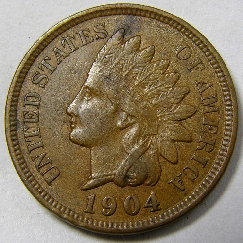 1904 P INDIAN HEAD CENT #5
