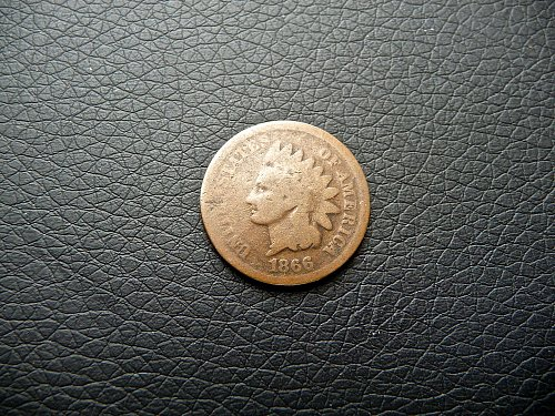 1866 Indian Penny