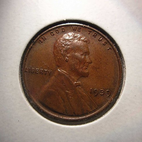 1939 Lincoln Wheat Cent Small Cents: Nice Penny