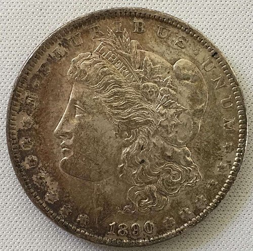1890 P Morgan Dollar - Toned
