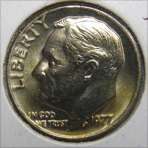 1977 P Roosevelt Dime #1