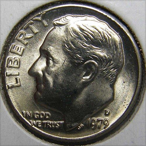 1979 D Roosevelt Dime #1