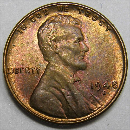 1948 D Lincoln Wheat Cent #3