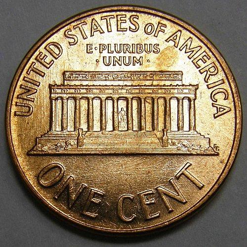 1961 D Lincoln Wheat Cent #2 Error