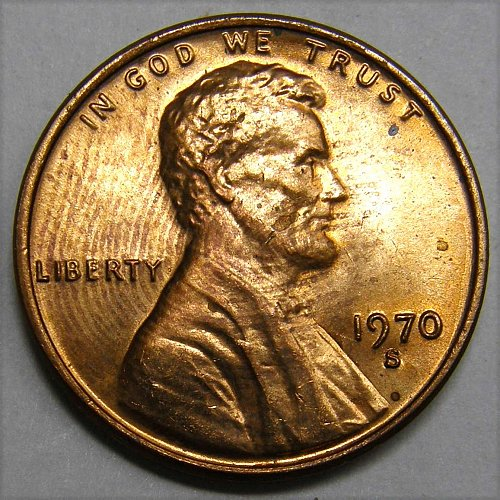 1970 S Lincoln Memorial Cent #1
