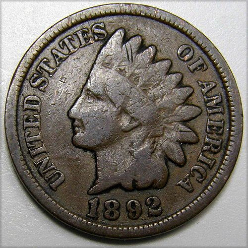 1892 P Indian Head Cent #5