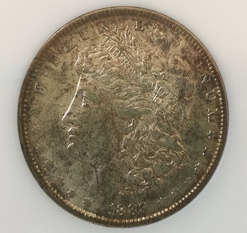 1889 P Morgan Dollar - very nice original coin!