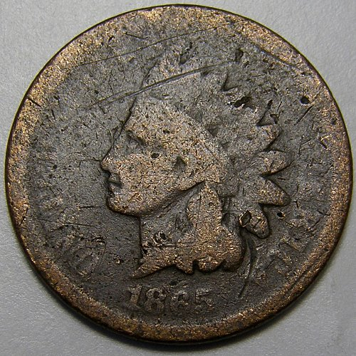 1865 Indian Head Cent #13