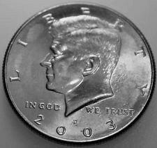 2003 D half dollar b/u
