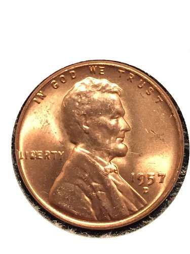 1957 D Wheat Cent