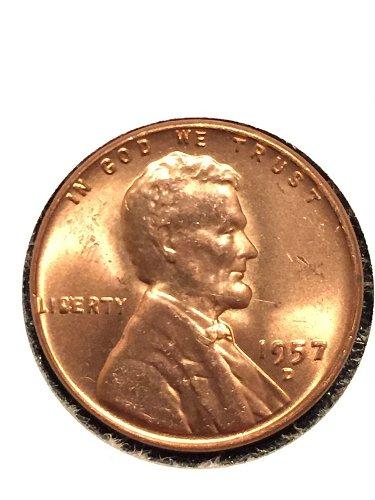 1957 D Wheat Cent