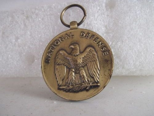 1945 world war II national defense medal