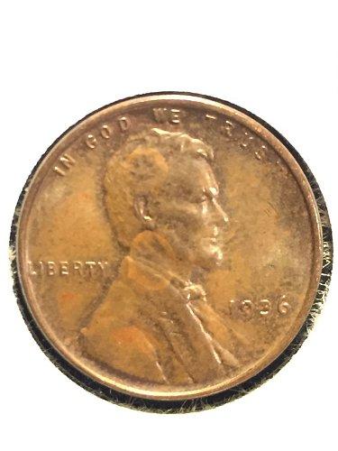 1936 P Wheat cent