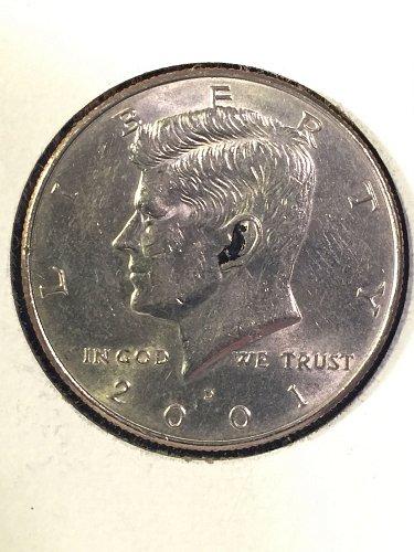 2001-D Kennedy Half Dollar