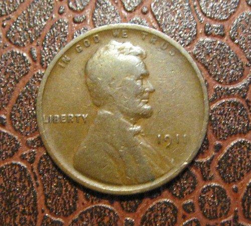 1911 P Lincoln Wheat Cent
