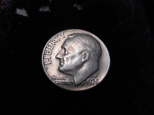 Die Polish Error  1975D  Dime
