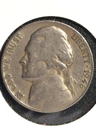 1946 D Jefferson Nickel