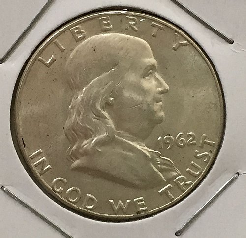 1962 D Franklin Half Dollar