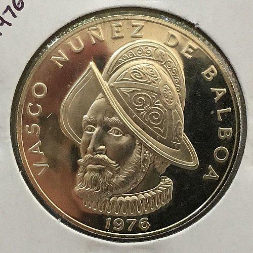 1976 Panama Balboa .925 Silver - Proof