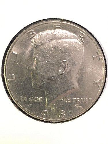1985-D Kennedy Half Dollar