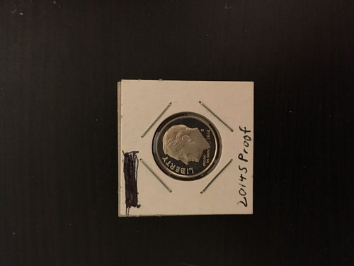 2014 S Proof Roosevelt Dime