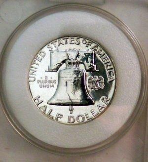 1961 half dollar proof 69