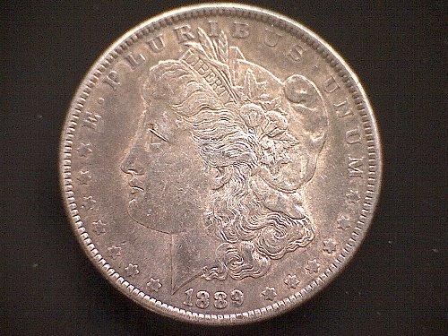 1889 - P MORGAN DOLLAR