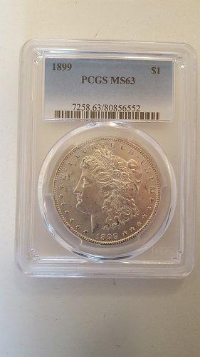 1899 Morgan Dollar MS-63