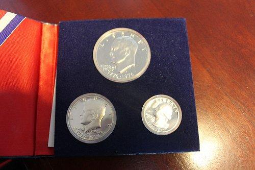 1976 Bi-centennial Silver Proof Set