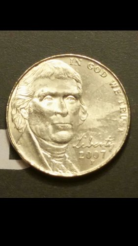 2007-p nickel  (collar error)