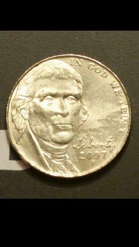 2007-p nickel  (collar error)