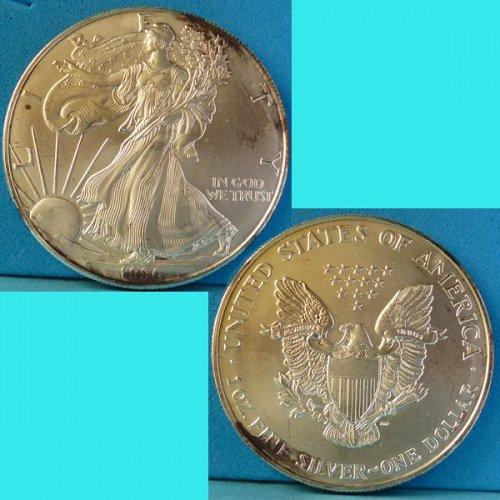 American Silver Eagle 1996 P