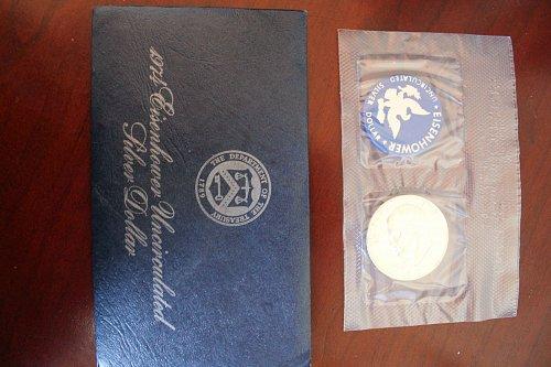 1974 S Eisenhower 40% Silver Dollar