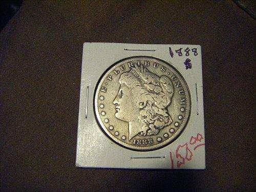 1888-s Morgan Silver Dollar Semi-Key Date