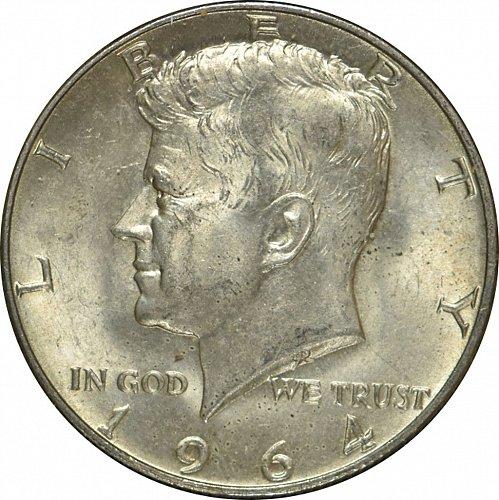 1964 D Kennedy Half Dollar,  (Item 55)