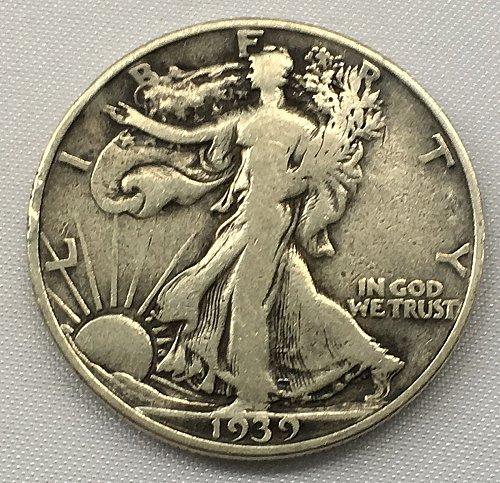1939 D Walking Liberty Half Dollar