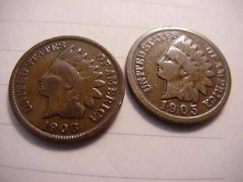 2-indians 1905 and 1908