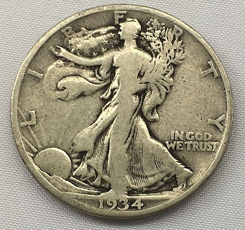 1934 P Walking Liberty Half Dollar