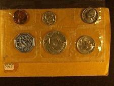 Philadelphia mint set, one only