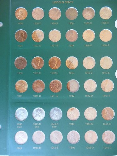 *BU and Proof* 1935-2007 Lincoln Wheat and Lincoln Memorial Cents Collection
