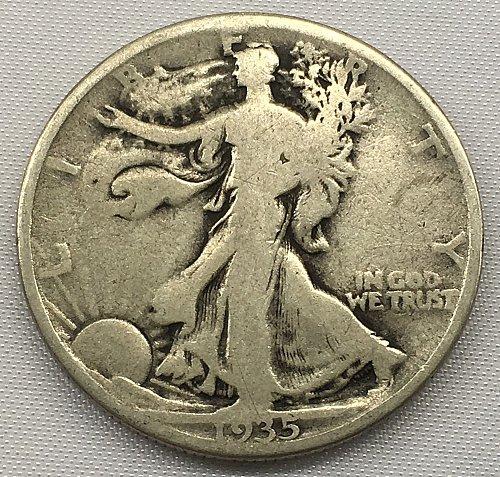 1935 P Walking Liberty Half Dollar