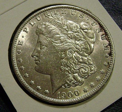 1900-O AU Morgan Silver Dollar Free Shipping