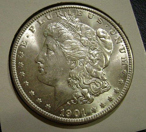 1901-O MS Morgan Silver Dollar Free Shipping
