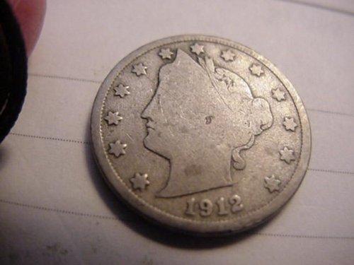 1912 D  liberty nickel